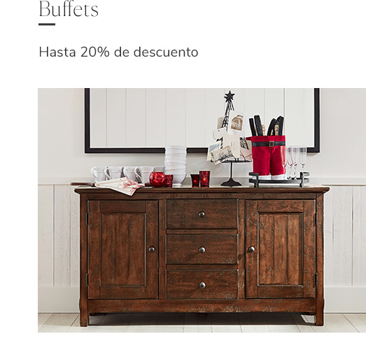 Buffets | Happy Holidays Pottery Barn