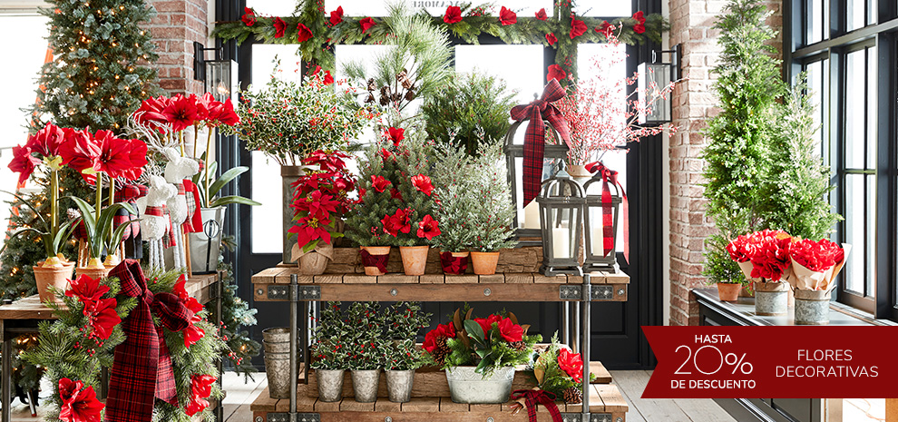 Flores Decorativas | Happy Holidays Pottery Barn
