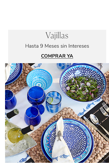 Vajillas | Pottery Barn